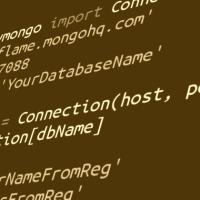 Python+MongoDB. QuickStart